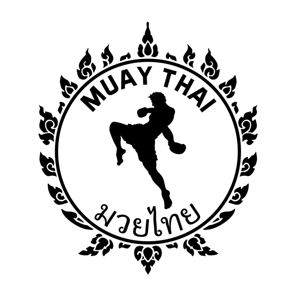 AMT_logo_Muay_Thai_2017_black_white